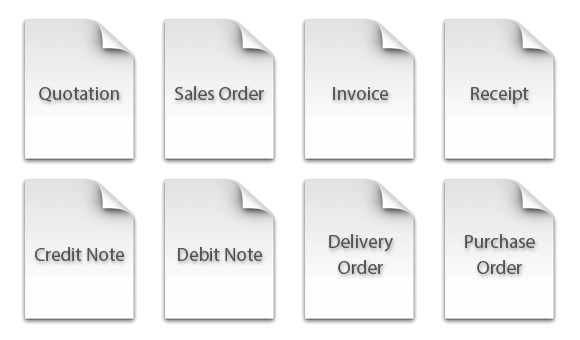 TxBilling - 8 Types of Document