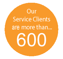 Service Clients has more than 600